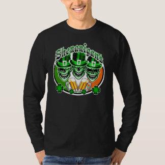 T-shirt Crânes irlandais riants de lutin : Malice