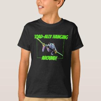 T-shirt crapaud-allié traînant