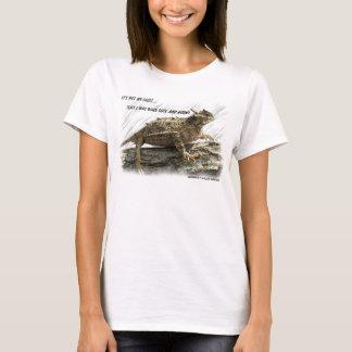 T-shirt Crapaud corné de lézard à cornes du Texas