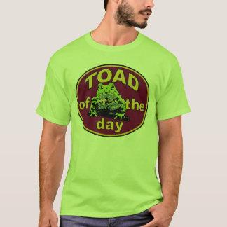 T-shirt Crapaud de la pièce en t de jour