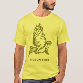 T-shirt Crapaud de pigeon