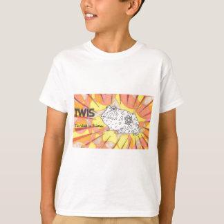 T-shirt Crapaud faisant le coin animal de TWIS Blair