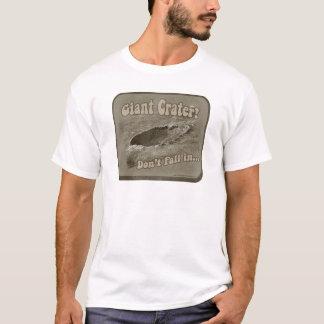 T-shirt Cratère géant drôle