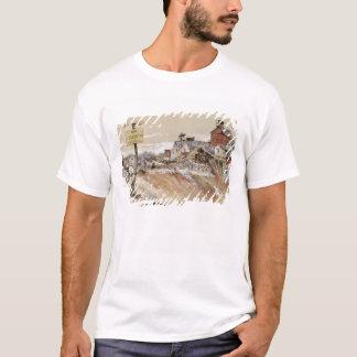 T-shirt Cratères au Jambon-Saint-Quentin