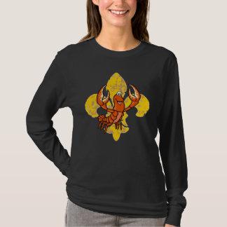 T-shirt Crawfish Fleur De Lis