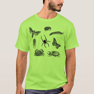 T-shirt Crawlies déplaisant