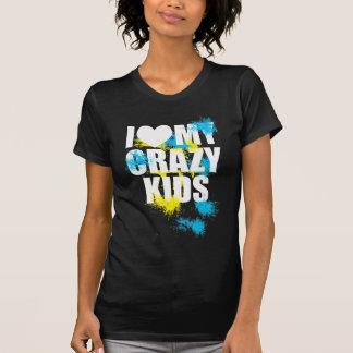 T-shirt Crazy kids