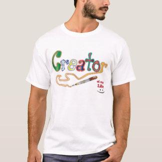 T-shirt Créateur de ma vie