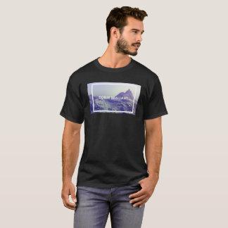 T-shirt création brillante