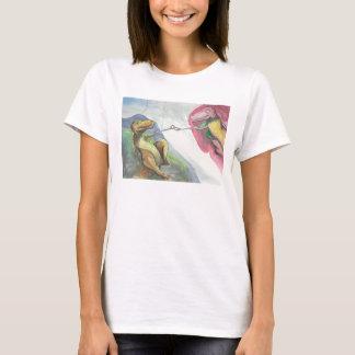 """T-shirt """"Création de T-Rex """""""