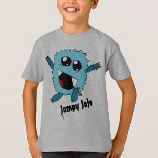 T-shirt Création superbe nerveuse de monstre d'amusement