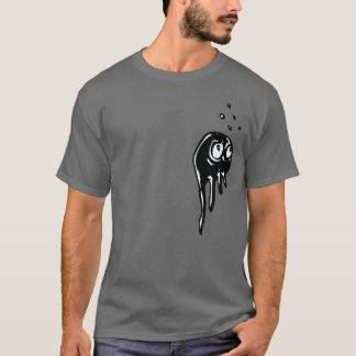 T-shirt Créature attentive de goutte de méduses