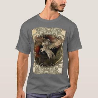 T-shirt Créature mythique d'imaginaire de Pegasus
