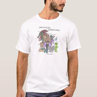 T-shirt Créatures mythiques - pirate informatique moral -