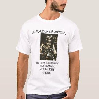 T-shirt Crédit où le crédit est dû !