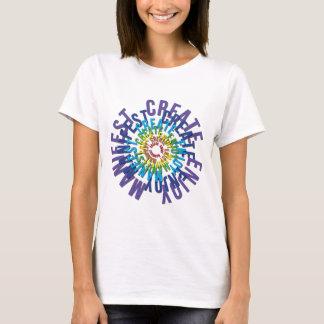 T-shirt Créez apprécient manifeste - LOA
