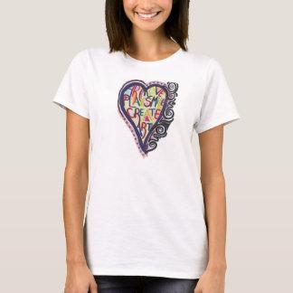 T-shirt Créez l'art (logo de LGSArt T)