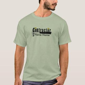T-shirt Créez votre propre entrepreneur de constructeur de