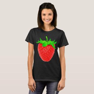 T-shirt Crème aux fraises