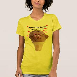 T-shirt crème glacée