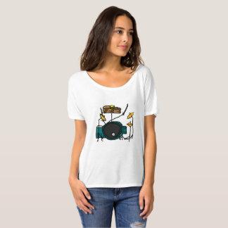 T-shirt Crêpe pour le tambour réglé - la chemise des