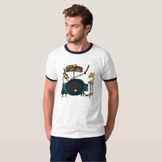 T-shirt Crêpe pour l'ensemble de tambour