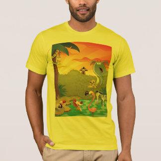 T-shirt Crépuscule au trou d'eau