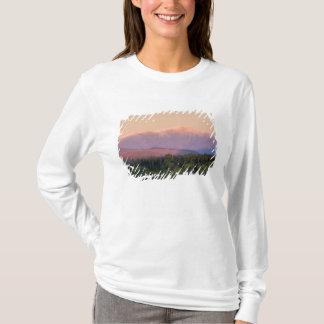 T-shirt Crépuscule et bâti Washington au New Hampshire