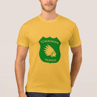 T-shirt Crête américaine de Tomahawk - d'or