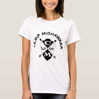 T-shirt Crête de classique de Mishawaka de camp