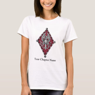 T-shirt Crête de couleur de PBP