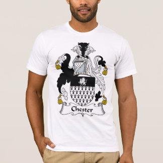 T-shirt Crête de famille de Chester