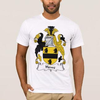 T-shirt Crête de famille de Howe