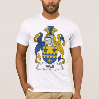 T-shirt Crête de famille de mur
