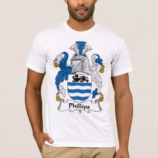 T-shirt Crête de famille de Phillips