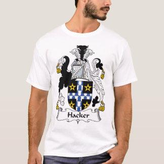 T-shirt Crête de famille de pirate informatique