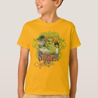 T-shirt Crête de groupe de Shrek