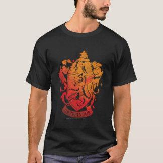 T-shirt Crête de Gryffindor - éclaboussée