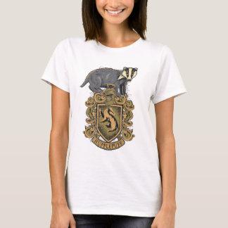 T-shirt Crête de Harry Potter   Hufflepuff avec le