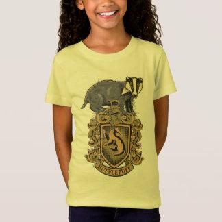 T-Shirt Crête de Harry Potter | Hufflepuff avec le