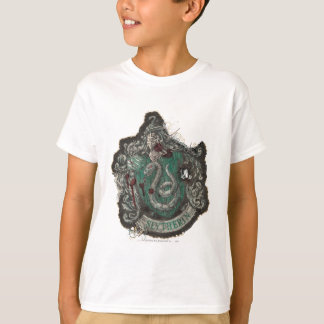T-shirt Crête de Harry Potter | Slytherin - cru