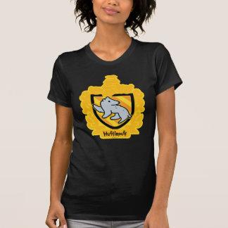 T-shirt Crête de Hufflepuff de bande dessinée