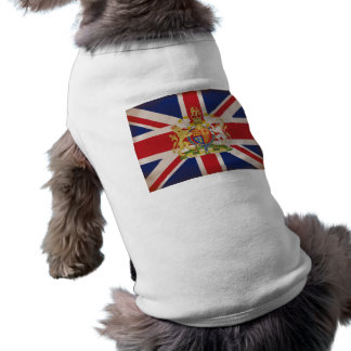 T-shirt Crête royale sur l'union Jack