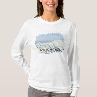 T-shirt Crêtes couronnées de neige Woodfjord le Svalbard 2