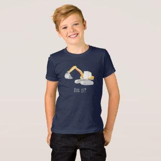 T-shirt Creusez-le ? Chemise défonceuse de garçons