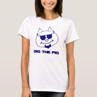 T-shirt Creusez le porc