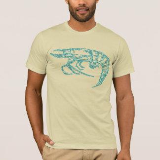 T-shirt Crevette bleue