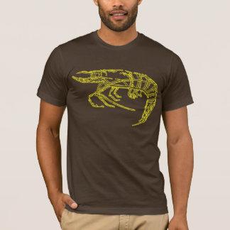 T-shirt Crevette jaune