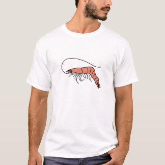 T-shirt crevette rose