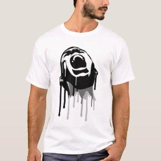 T-shirt Cri perçant de égouttement